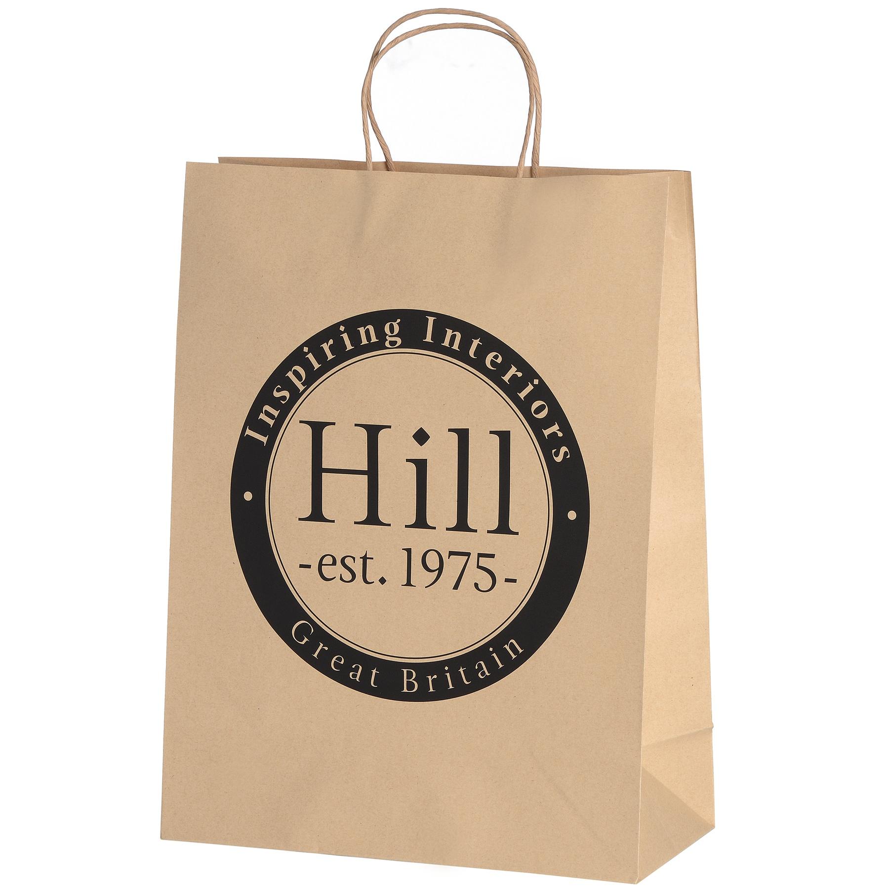 Medium Brown Paper Bag Hill 1975