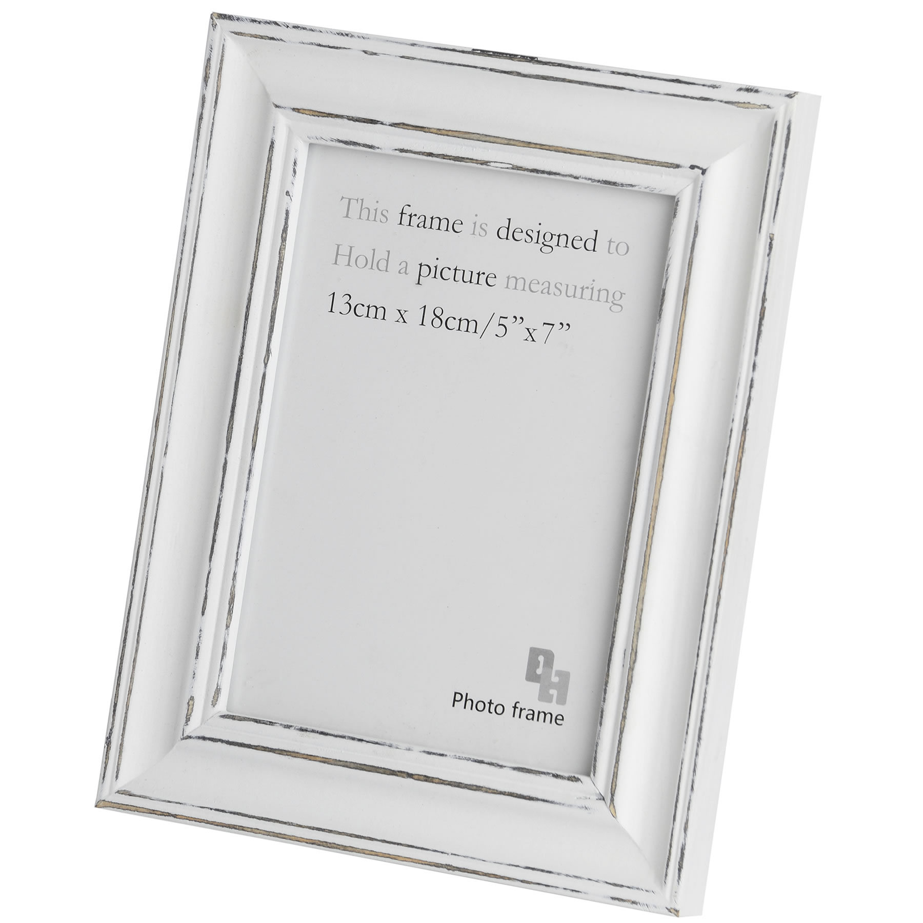 5 x 7 inch Antique white photo frame From Hill Interiors
