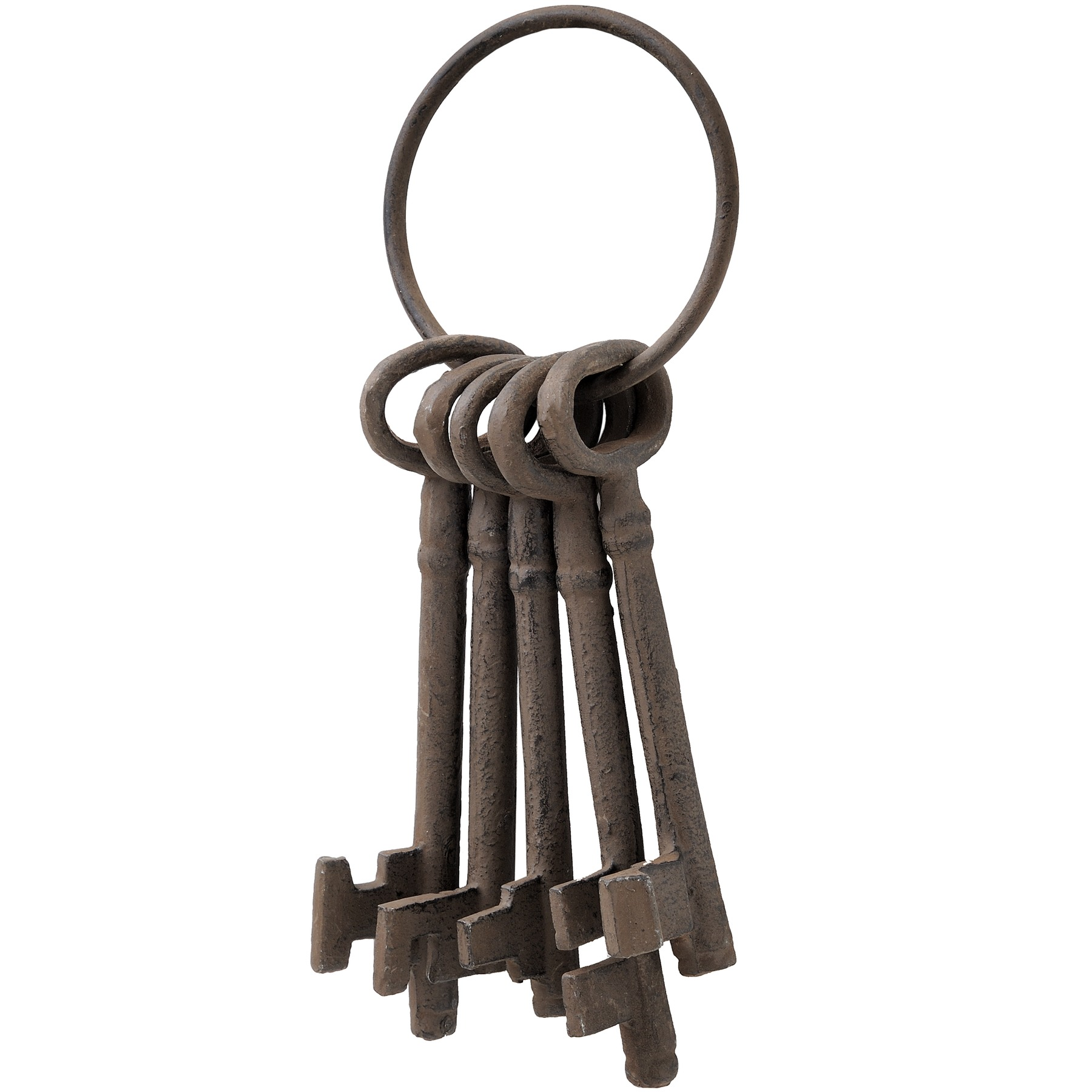Cast Iron Bunch Of Keys From Hill Interiors