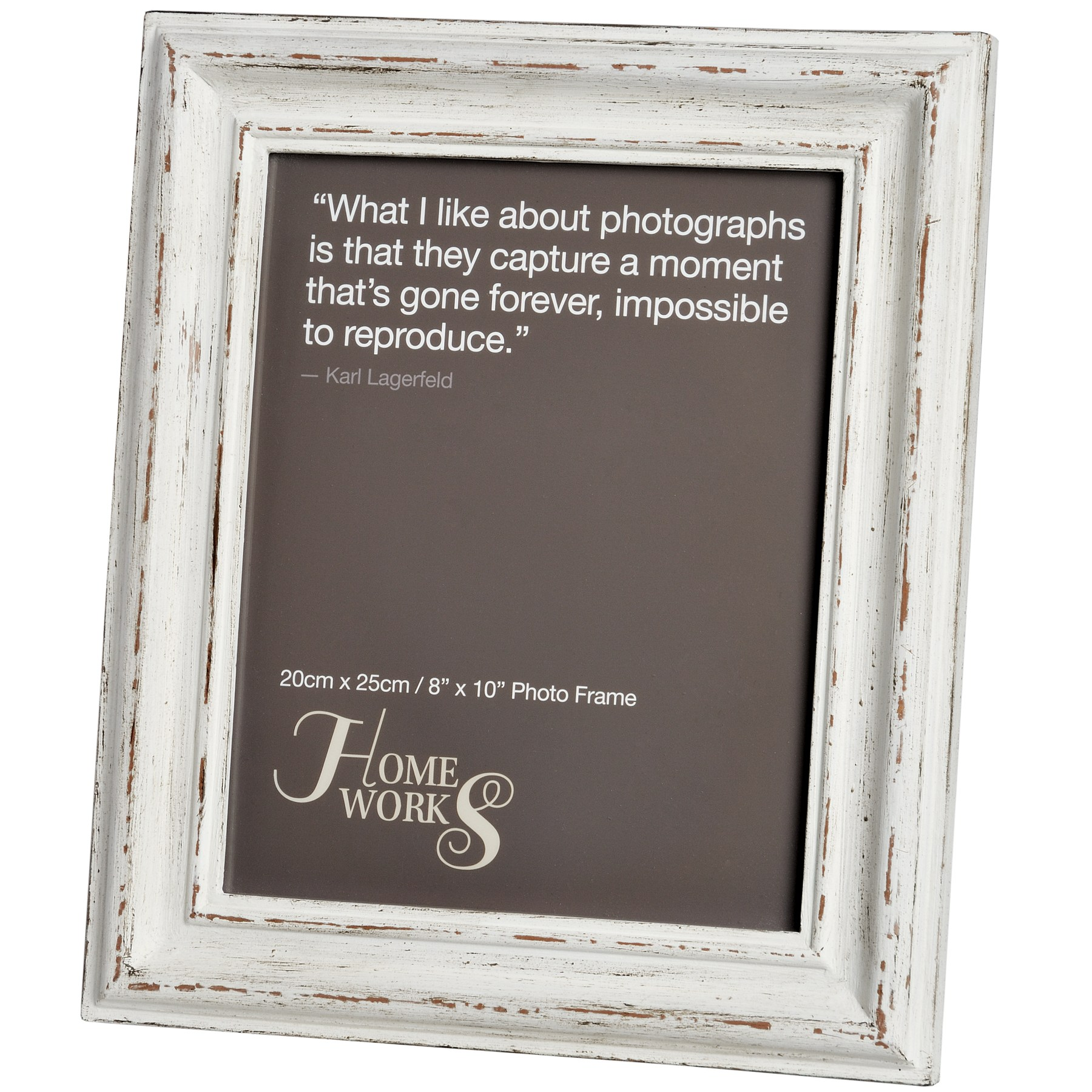 8x10 Antique White Photo Frame From Hill Interiors
