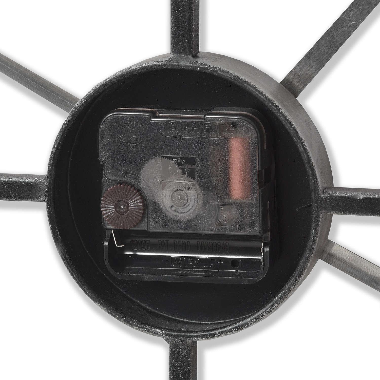 Silver Heart Skeleton Wall Clock - Image 4