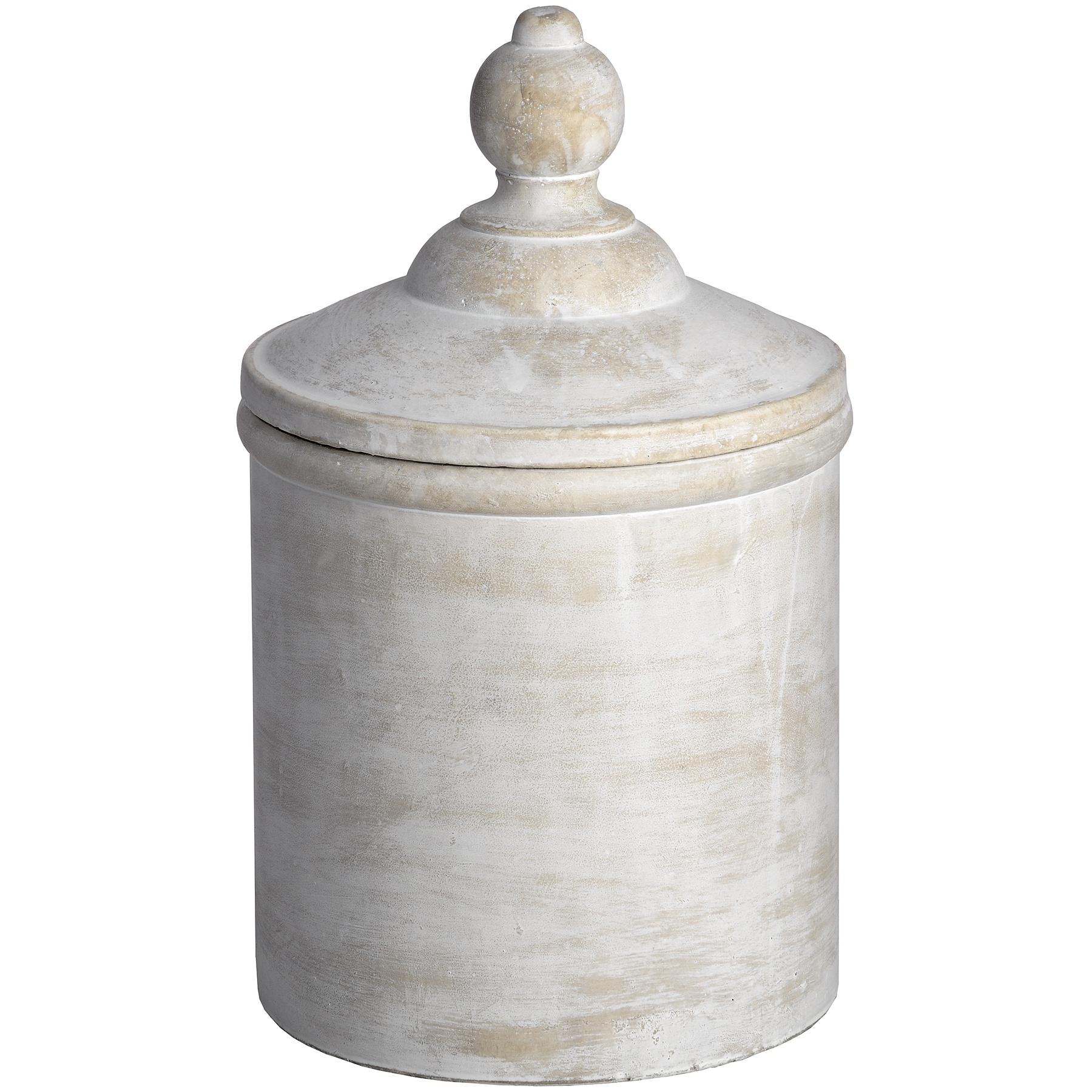 Antique White Cannister - Image 1