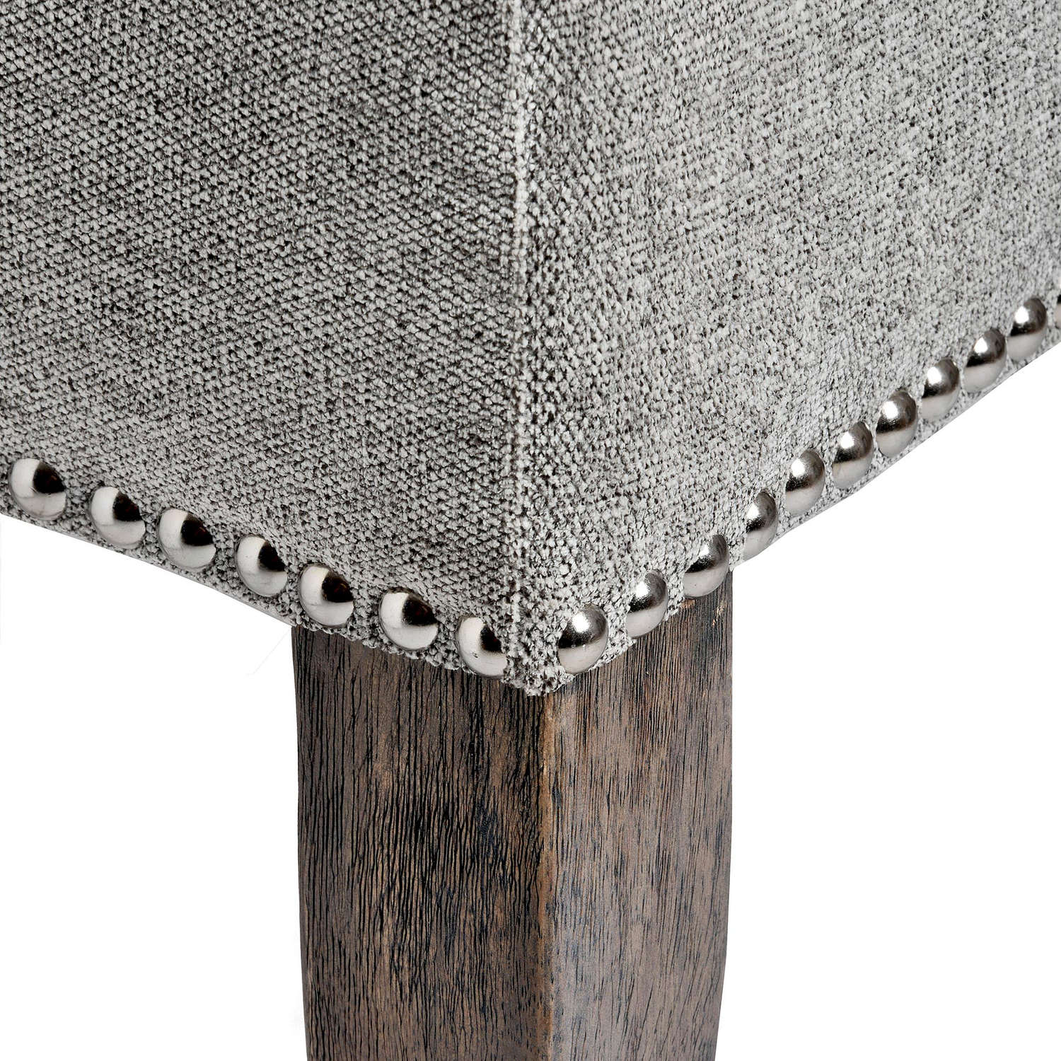 Silver Roll Top Dining Chair With Ring Pull - Image 5