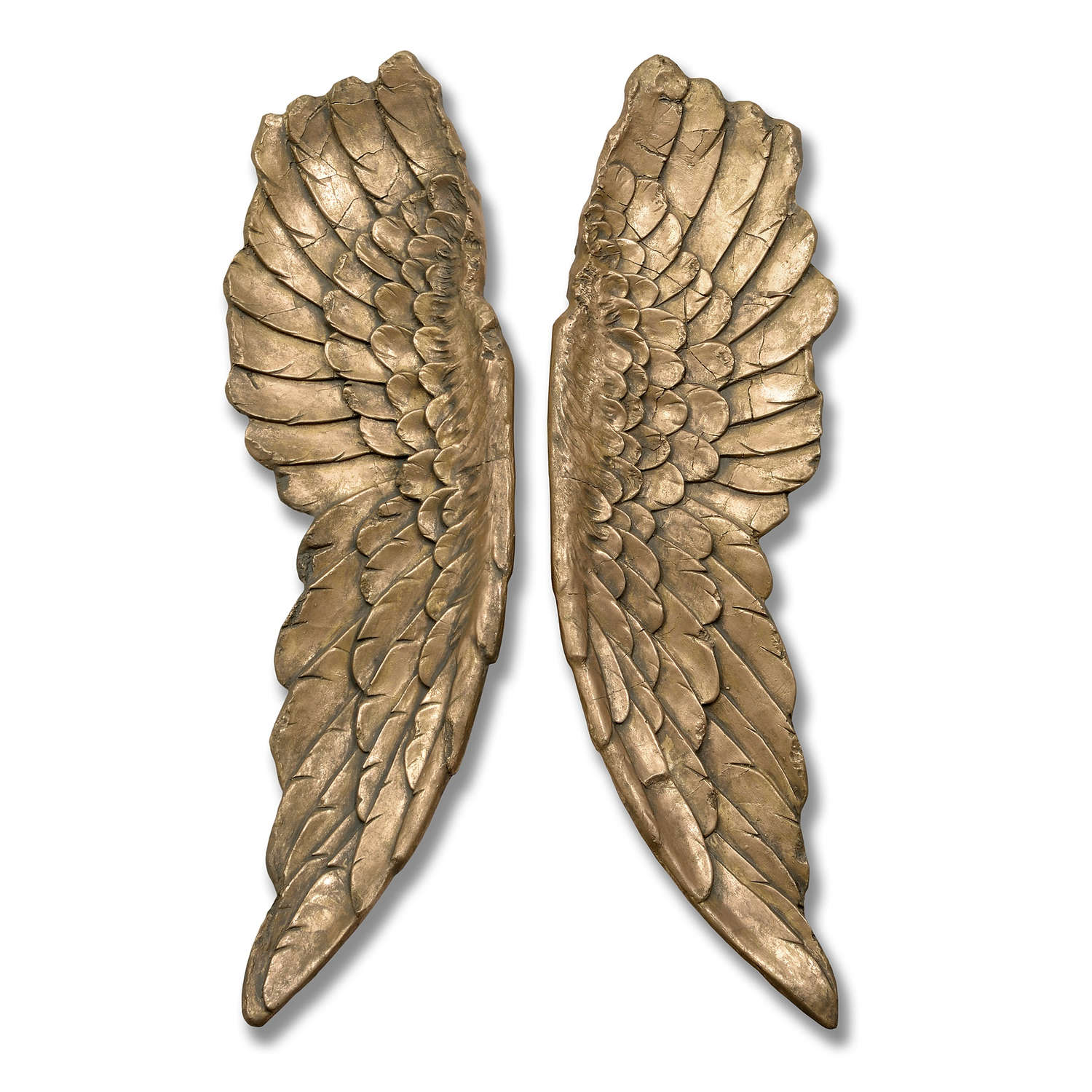 Gold Large Angel Wings - Image 1