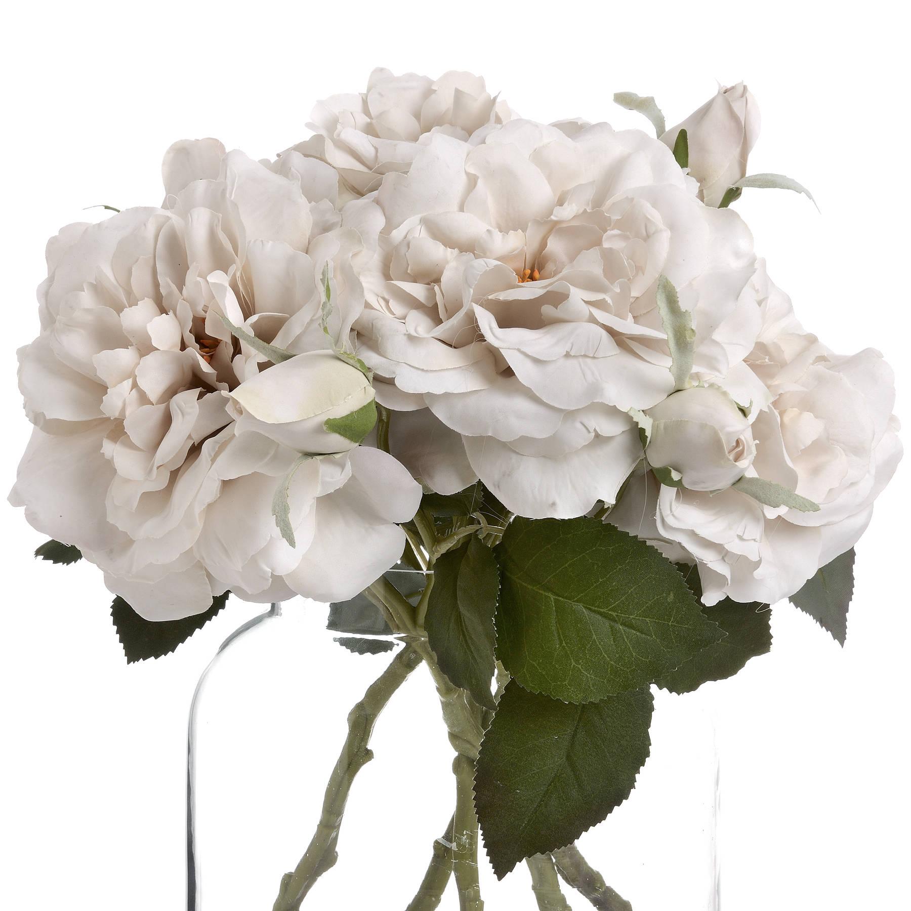 White Short Stem Rose - Image 4