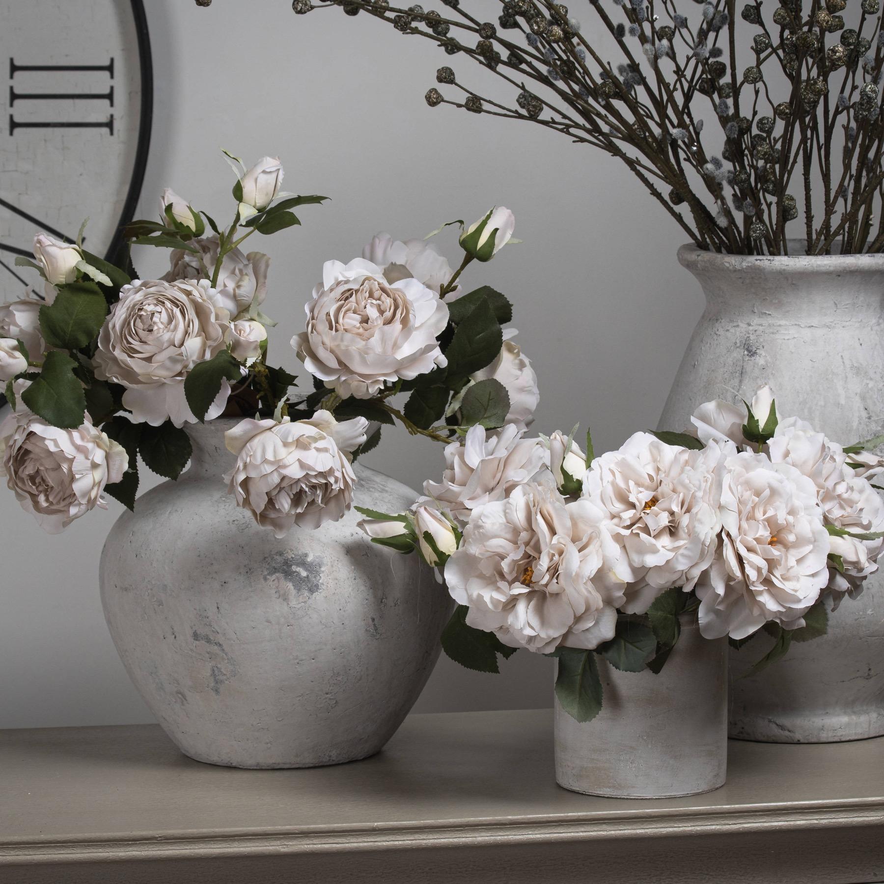 White Short Stem Rose - Image 7