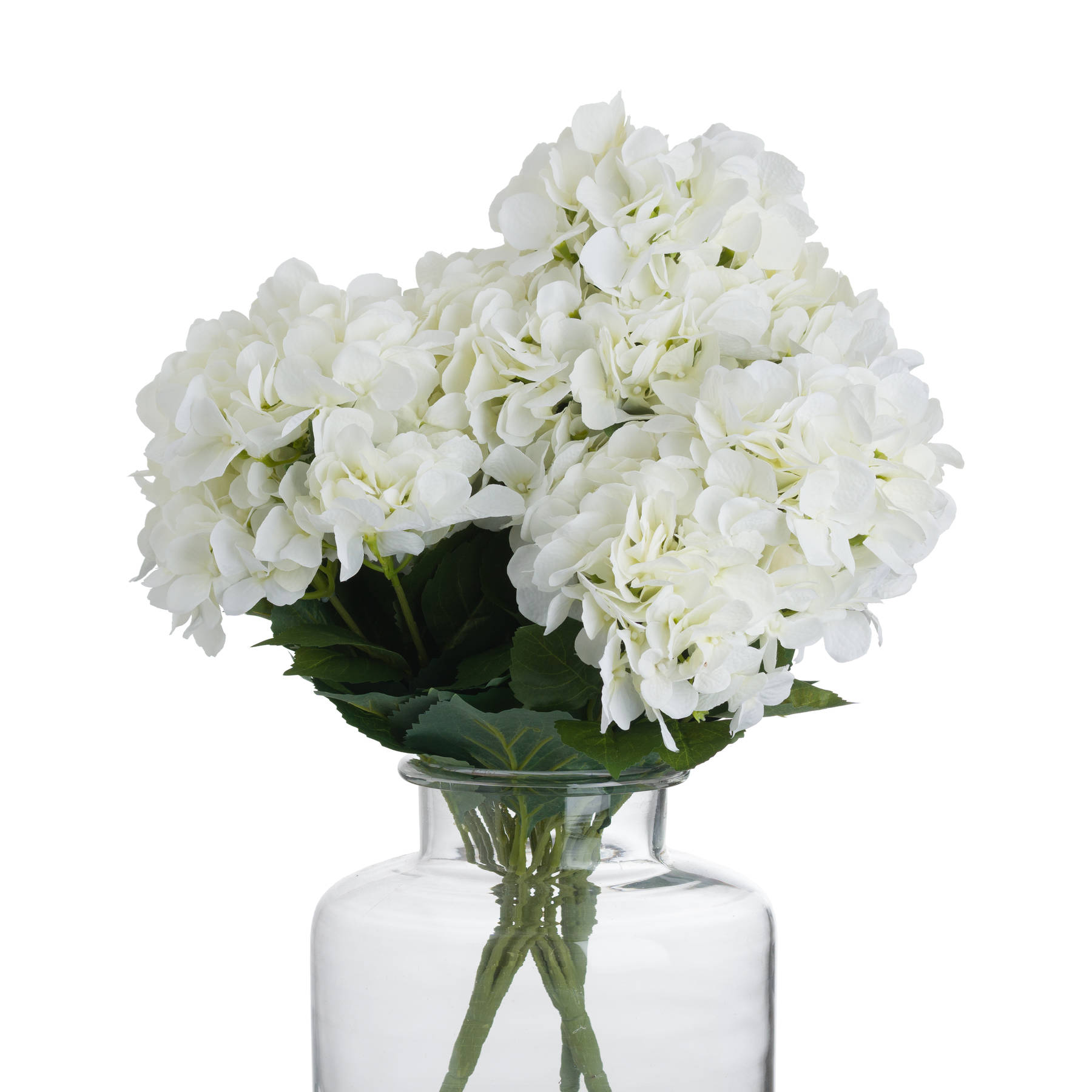 White Hydrangea Bouquet - Image 4