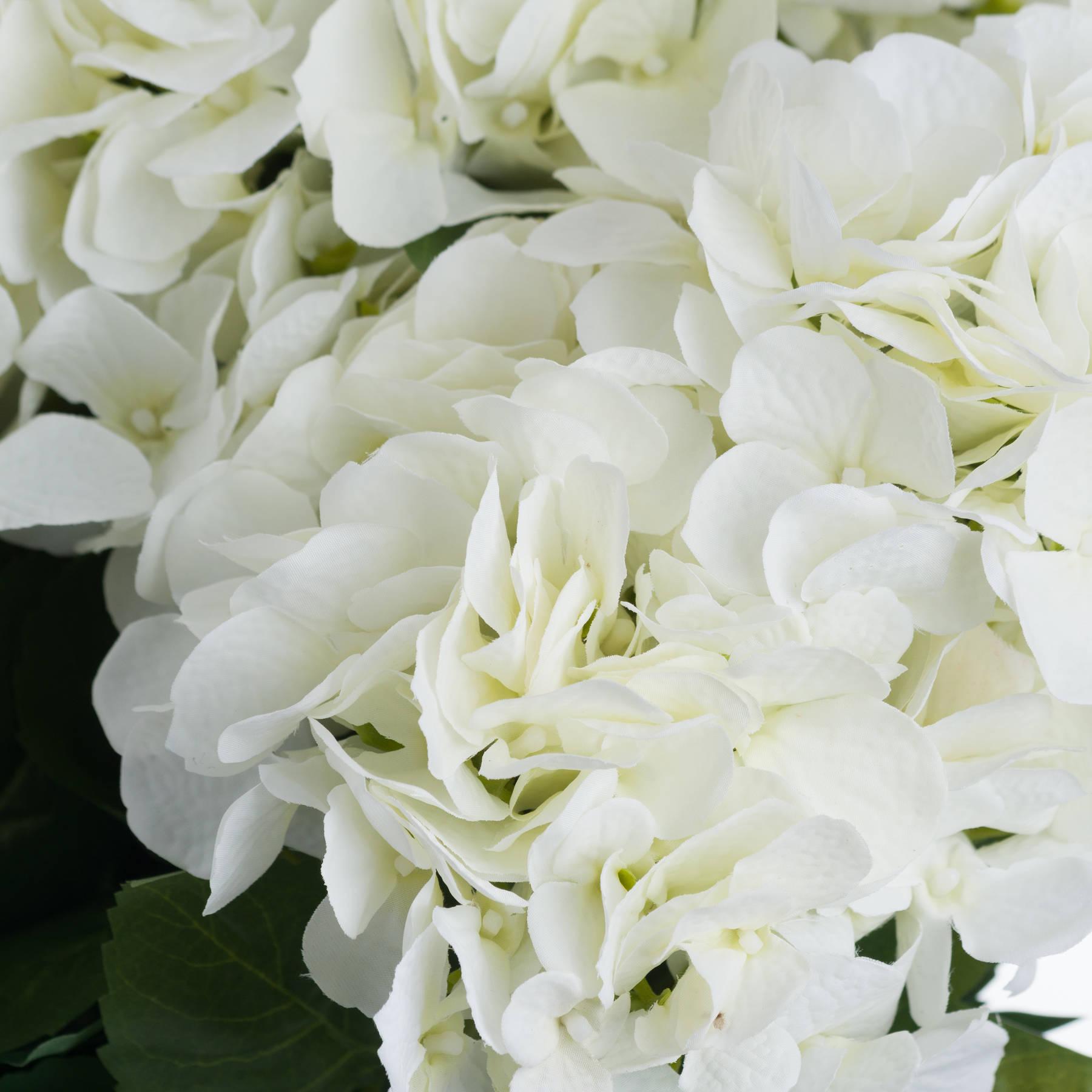 White Hydrangea Bouquet - Image 5