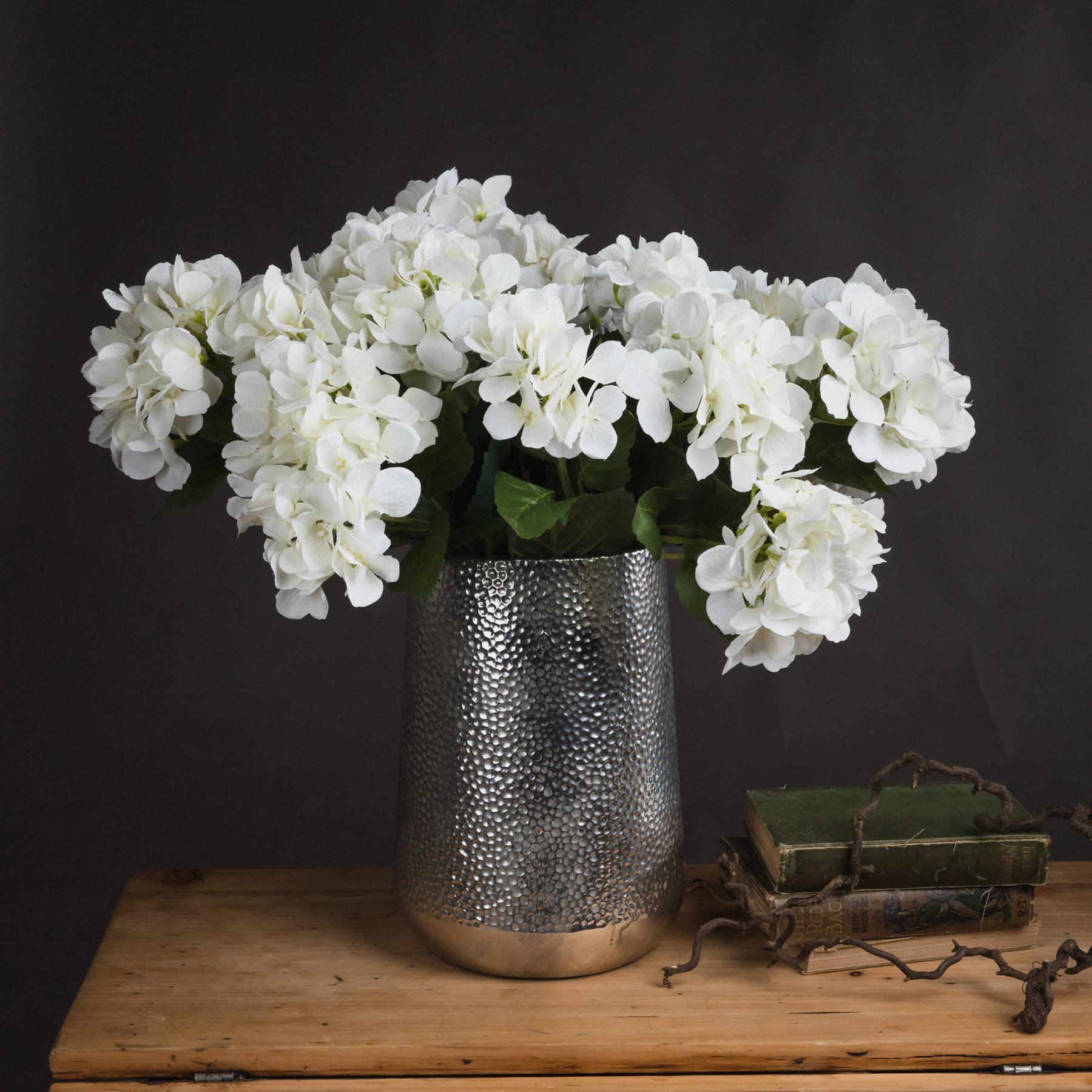 White Hydrangea Bouquet - Image 1