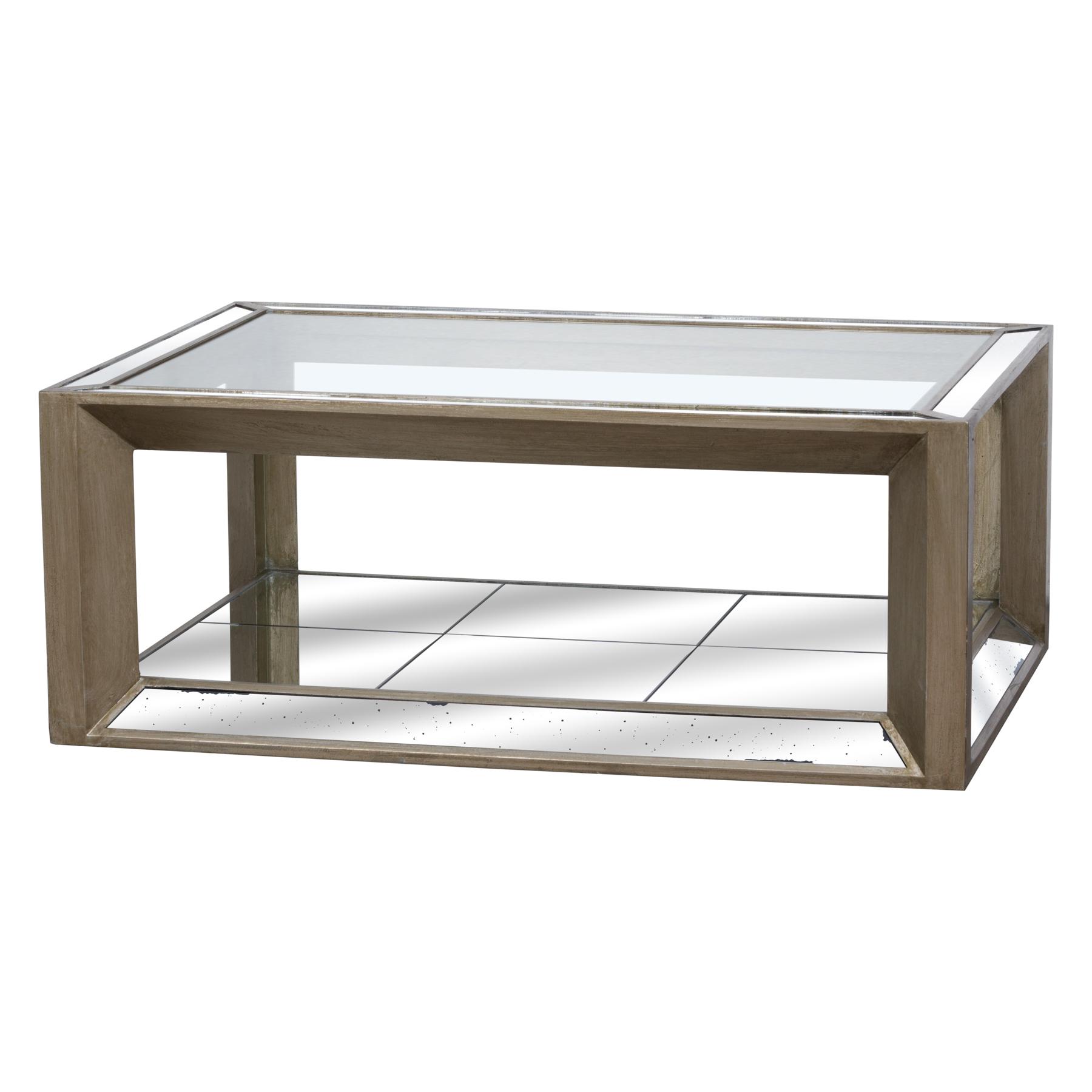 Augustan Coffee Table: Large Augustus Mirrored Coffee Table From Hill Interiors