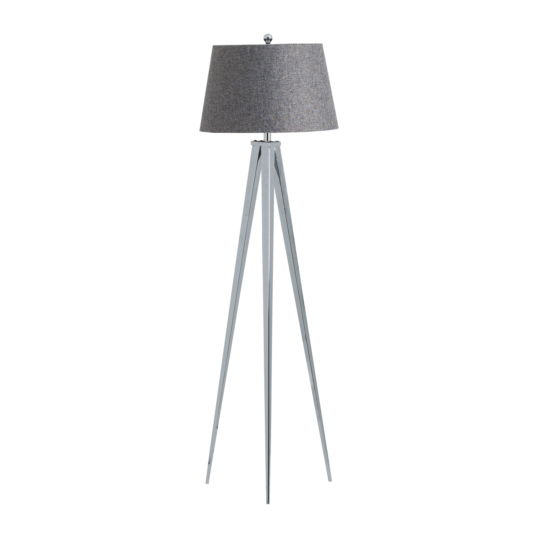 The Belgravia Chrome Tripod Floor Lamp
