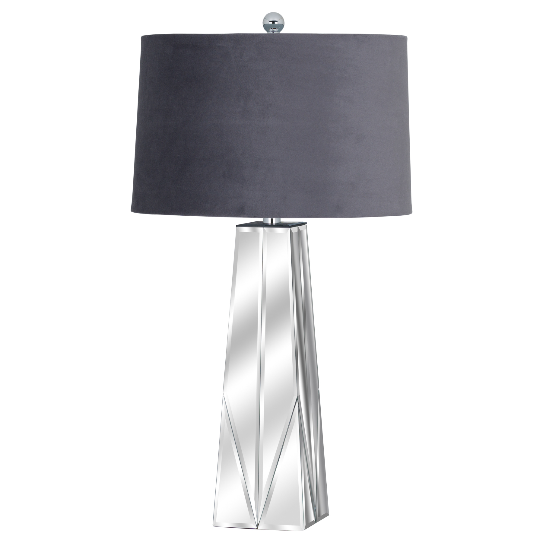 Barclay Bevelled Mirrored Table Lamp