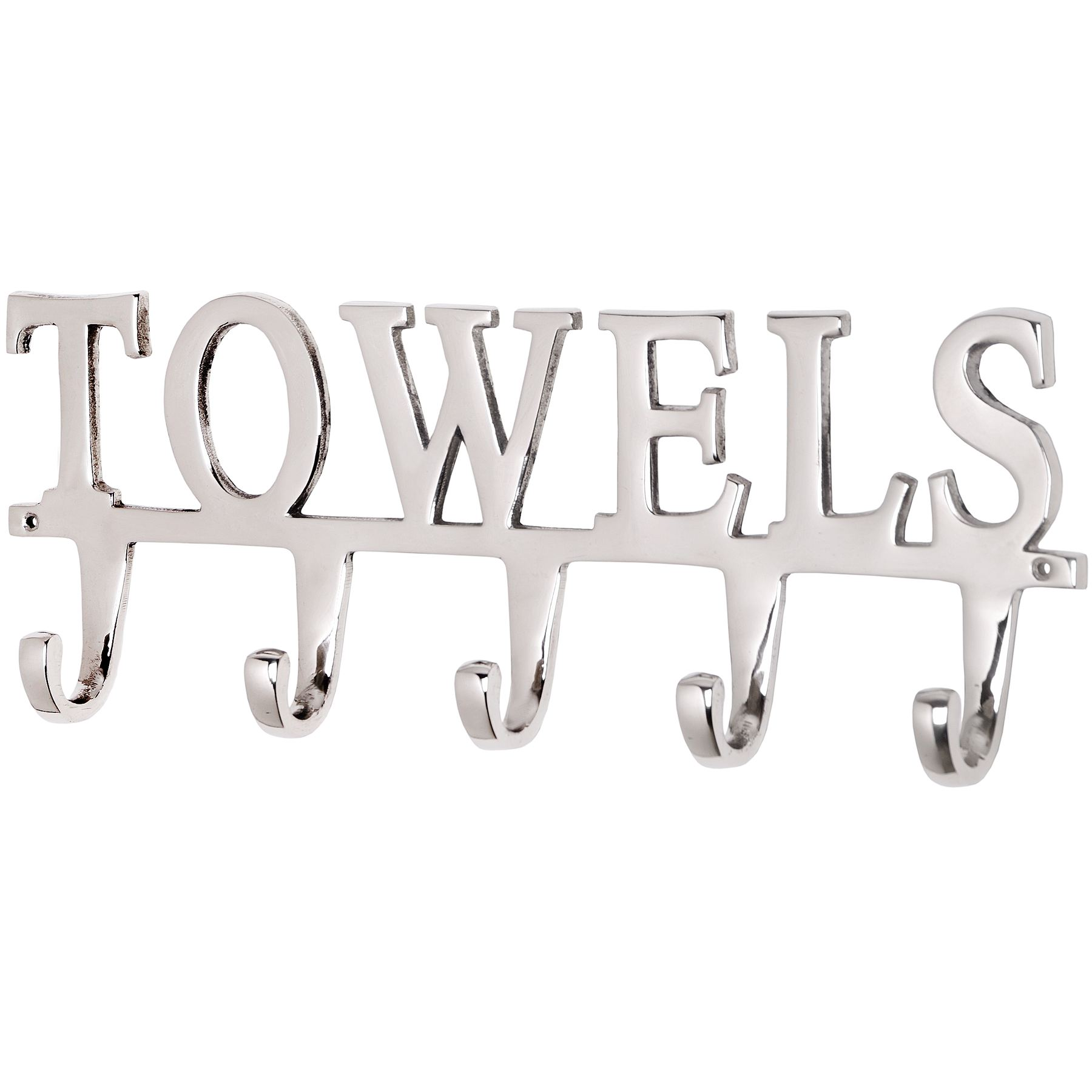 towel hooks. Large Nickel Towel Hook Hooks