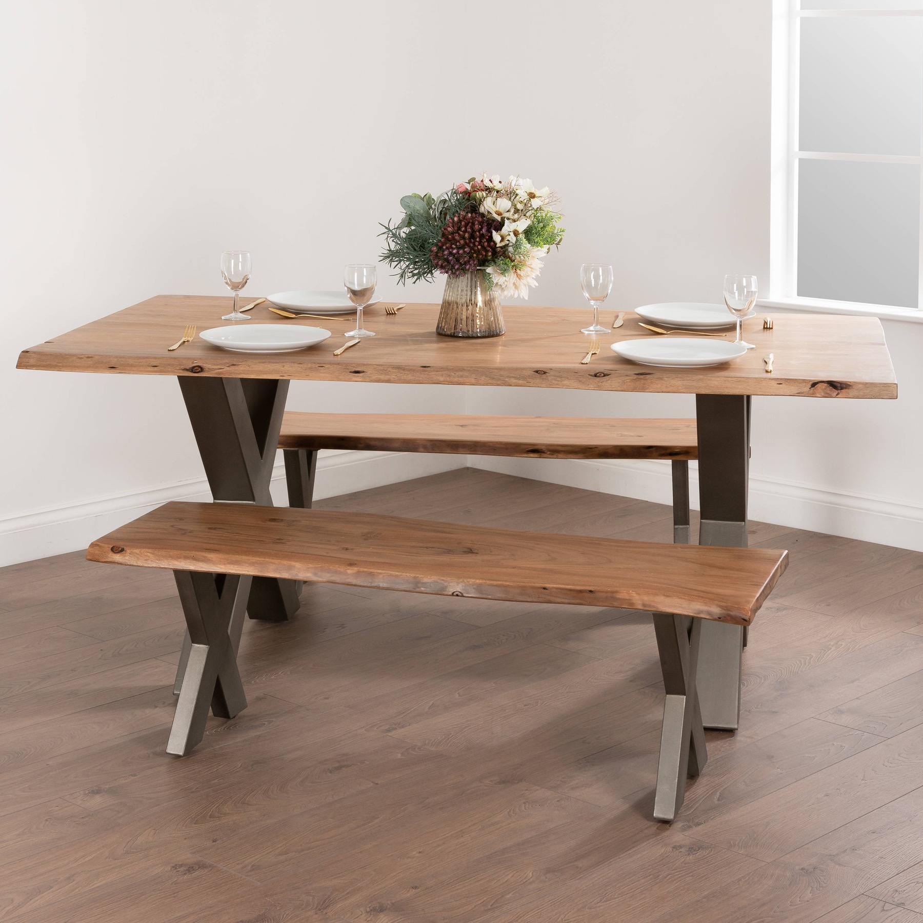 Live Edge Collection Bench - Image 4