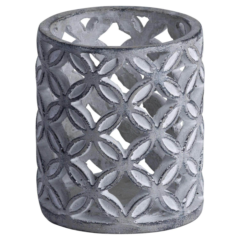 Geometric Stone Candle Sconce - Image 1
