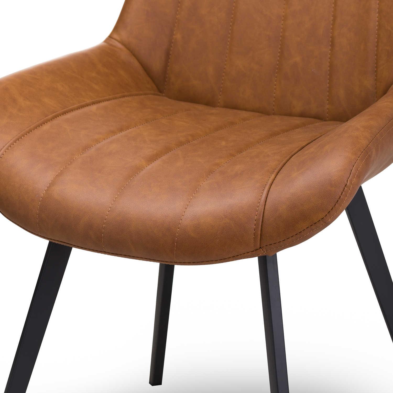 Malmo Tan Dining Chair - Image 3