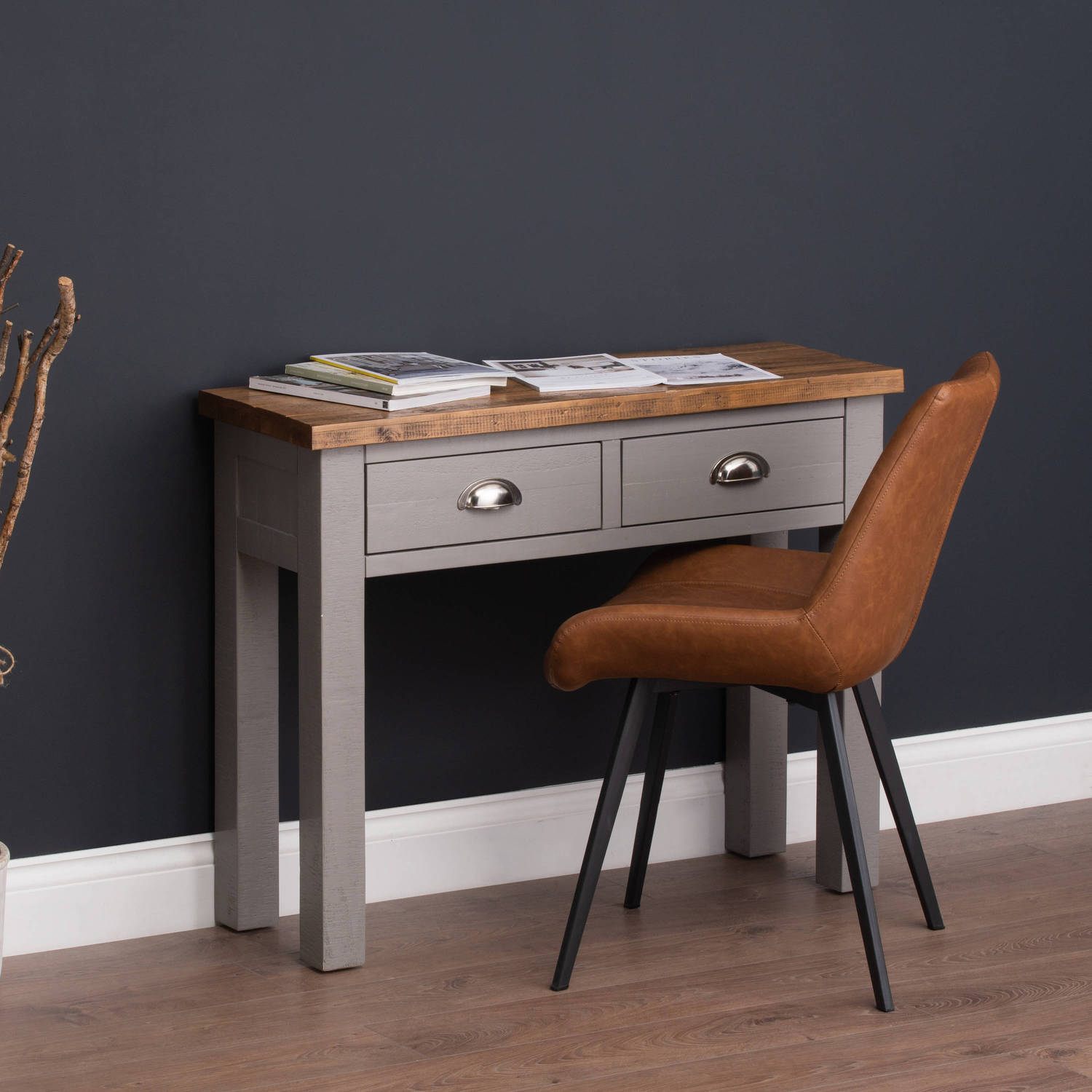 Malmo Tan Dining Chair - Image 6