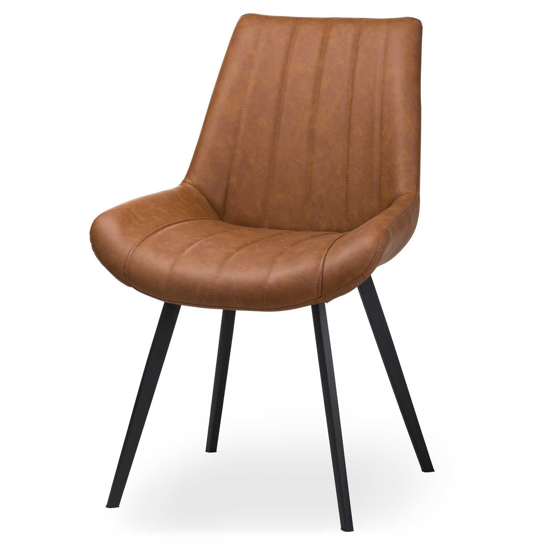 Malmo Tan Dining Chair - Image 1