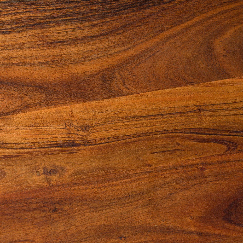 Large Round Hardwood Chopping Board - Image 2