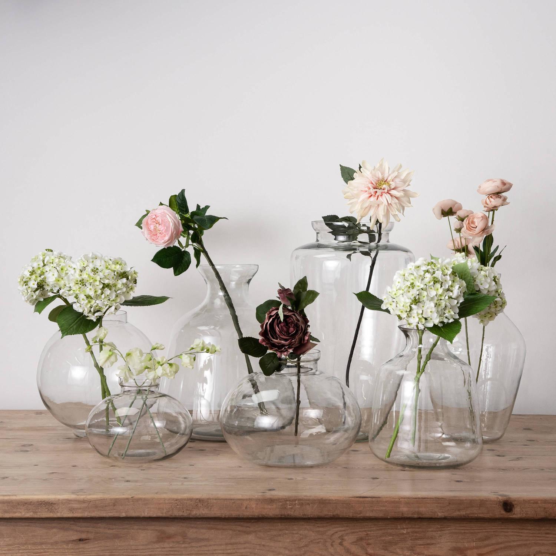 Large Amphora Glass Vase - Image 2