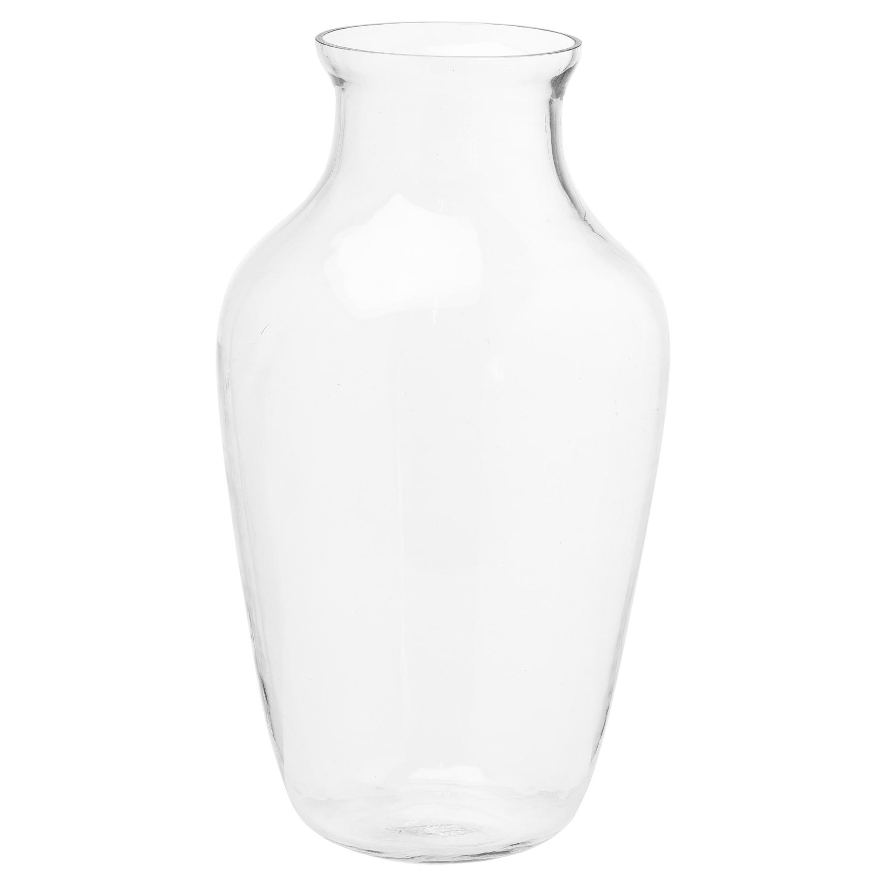 Large Amphora Glass Vase - Image 1