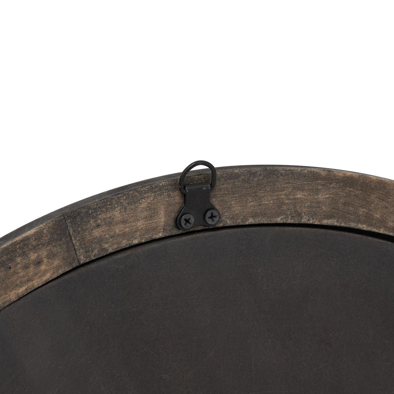 Circular Grey Wash  Avrey Mirror - Image 2