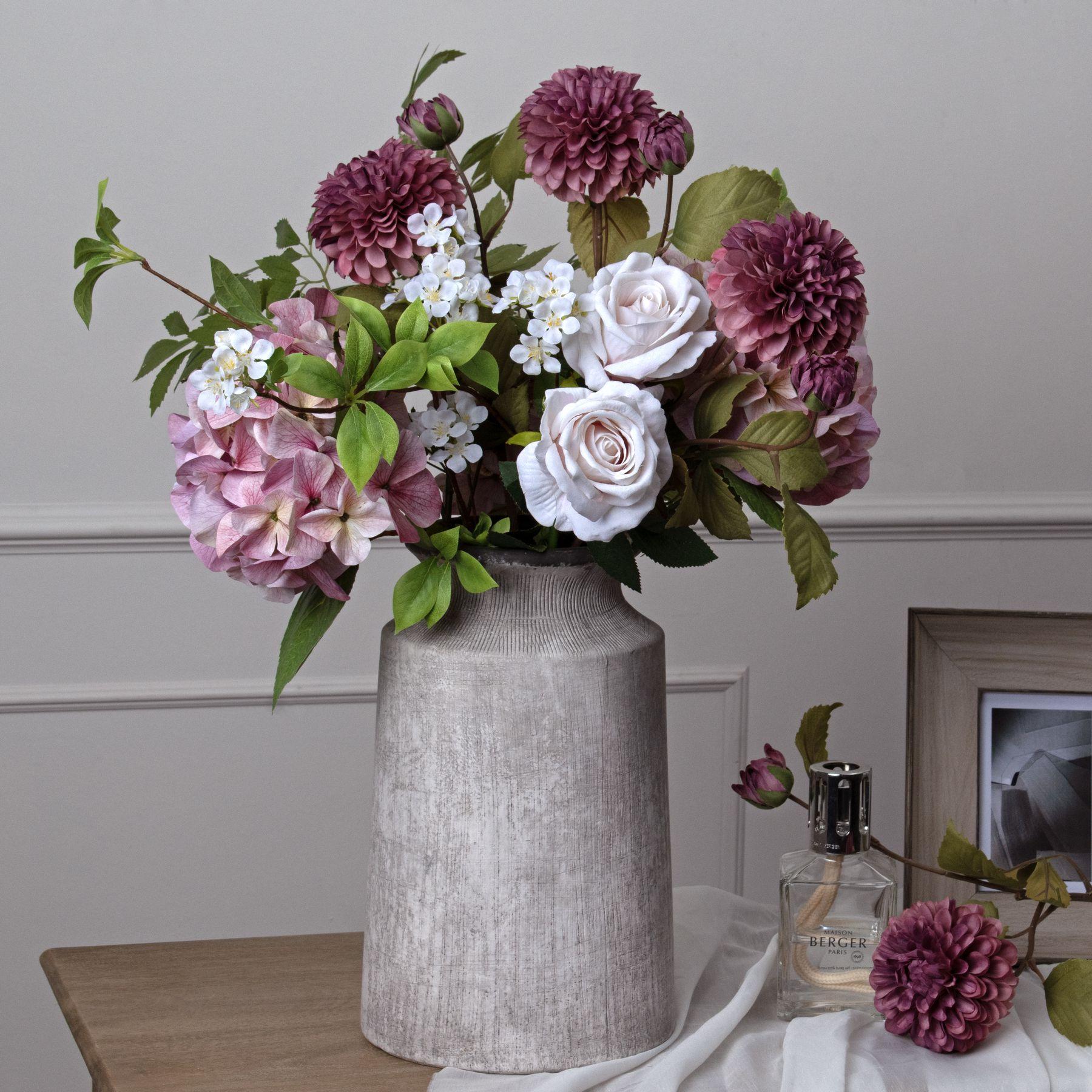 Bloomville Urn Stone Vase - Image 3