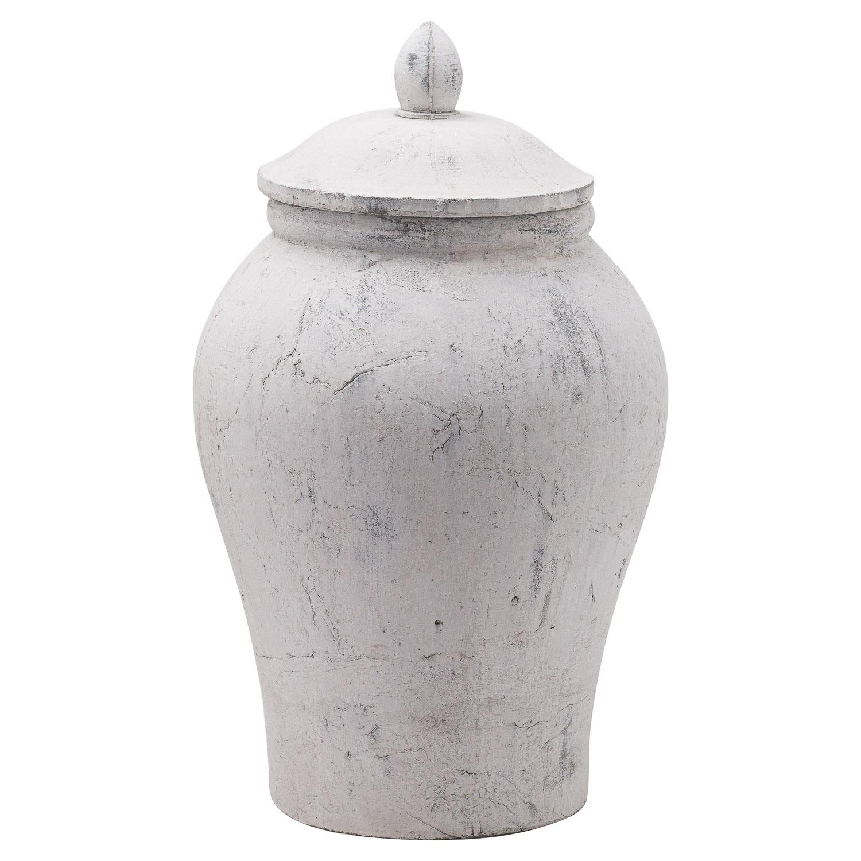 Bloomville Large Stone Ginger Jar - Image 1