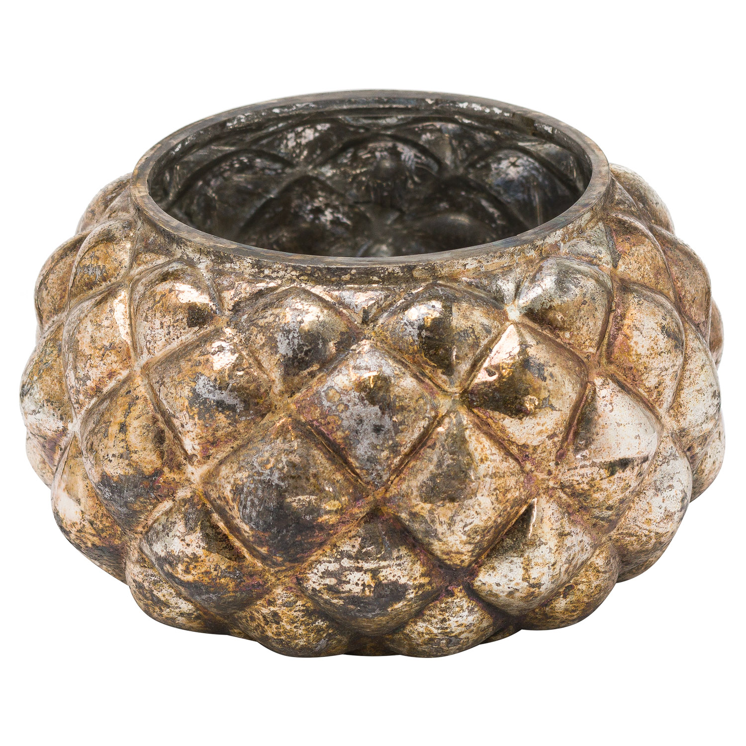 The Noel Collection Small Burnished Votive Candle Holder Wholesale By Hill Interiors