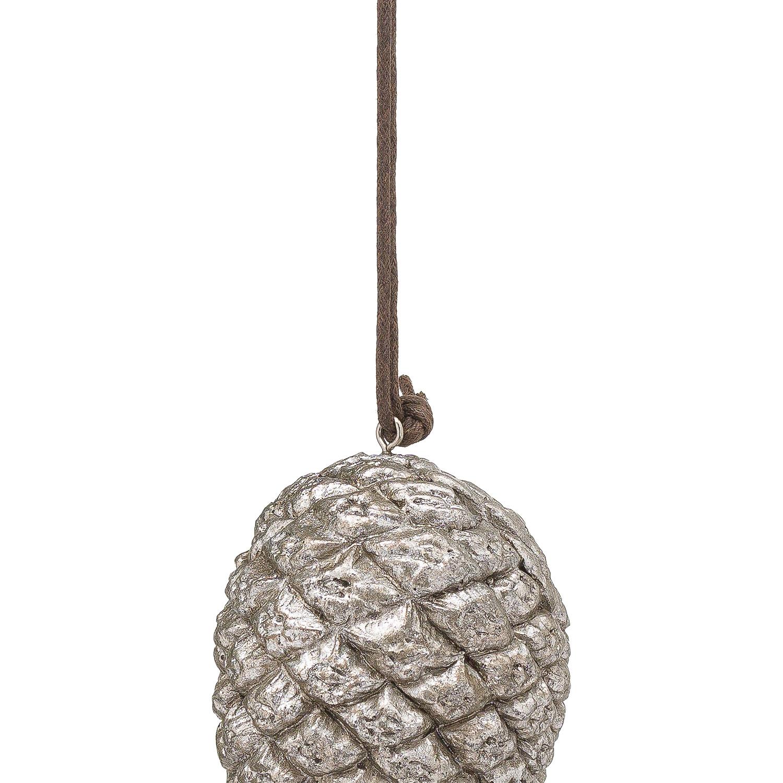 Hanging Silver Pinecone - Image 2