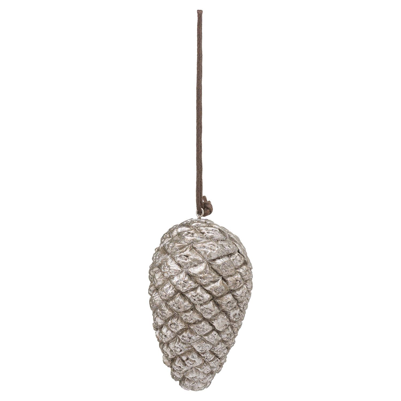 Hanging Silver Pinecone - Image 1