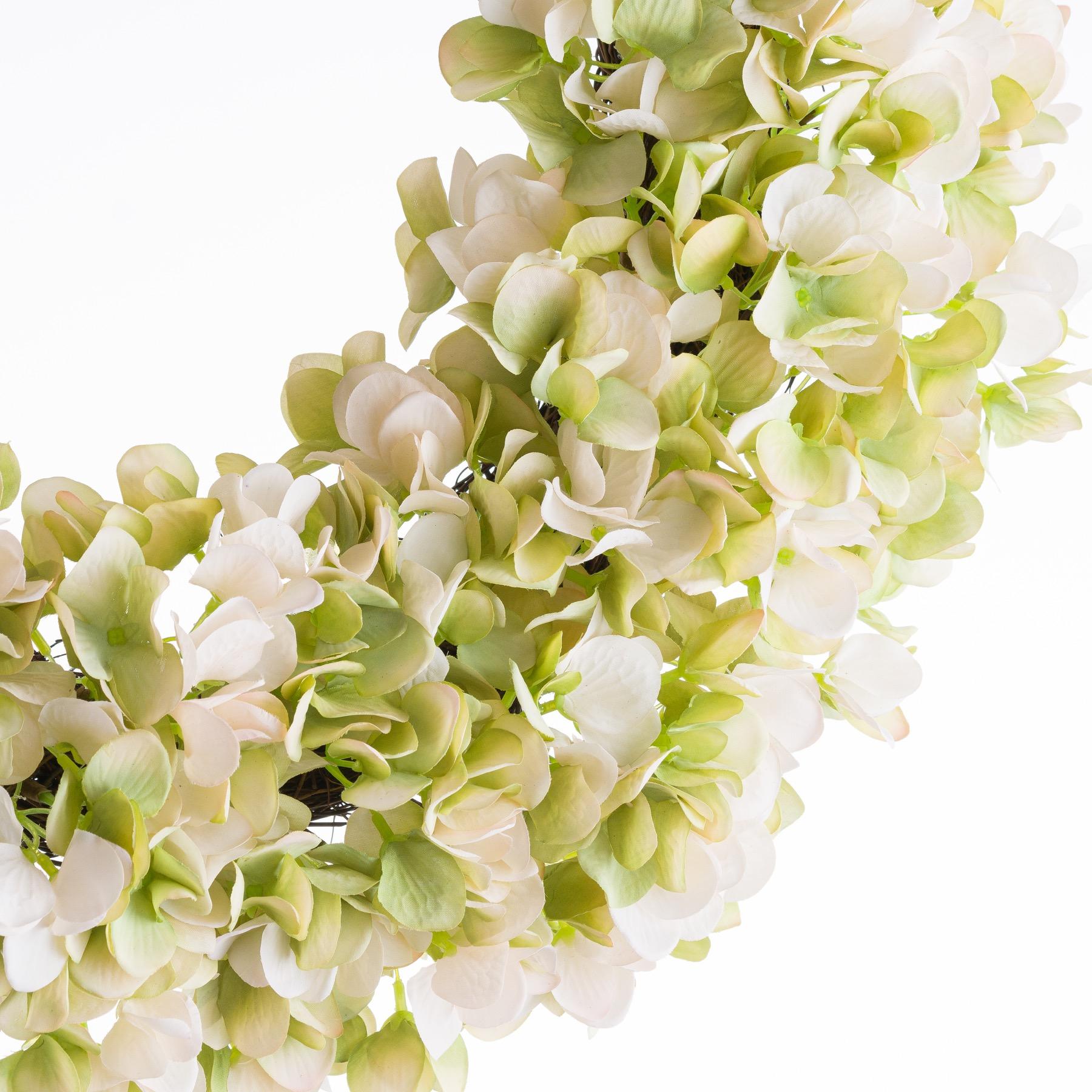White Hydrangea Wreath - Image 2