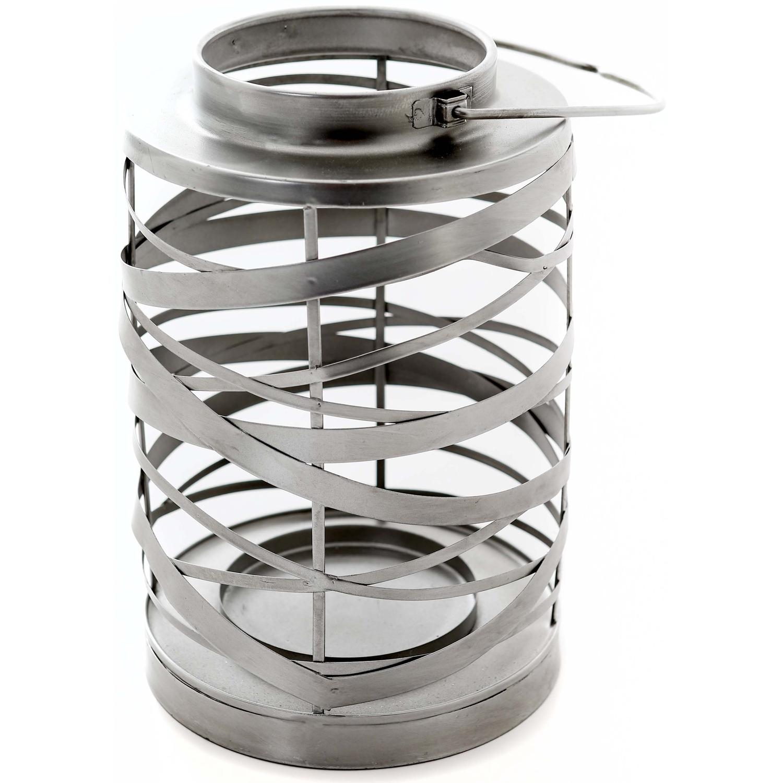 Antique Silver Ribbon lantern - Image 1