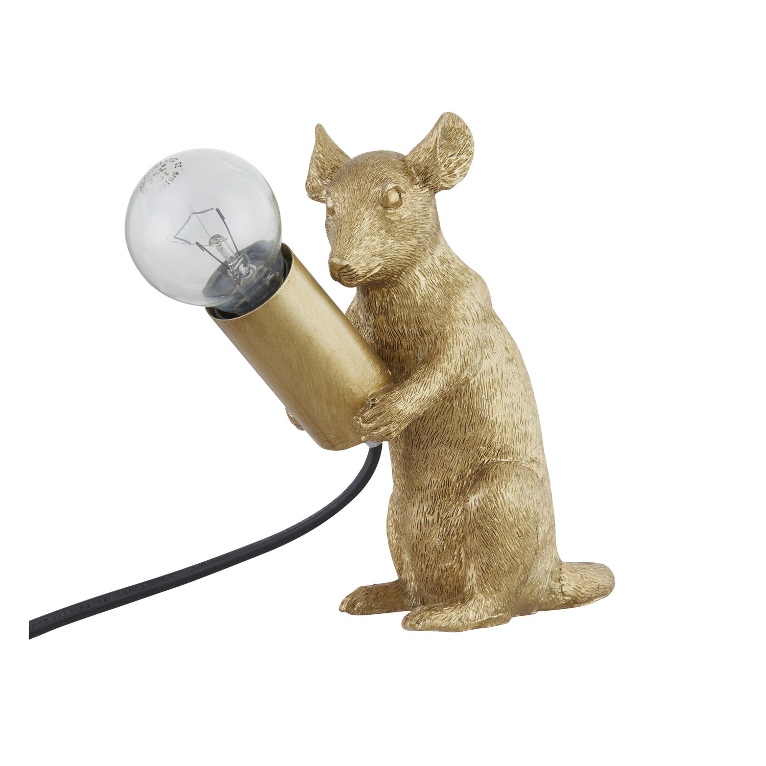 Milton The Mouse Gold Table Lamp - Image 4