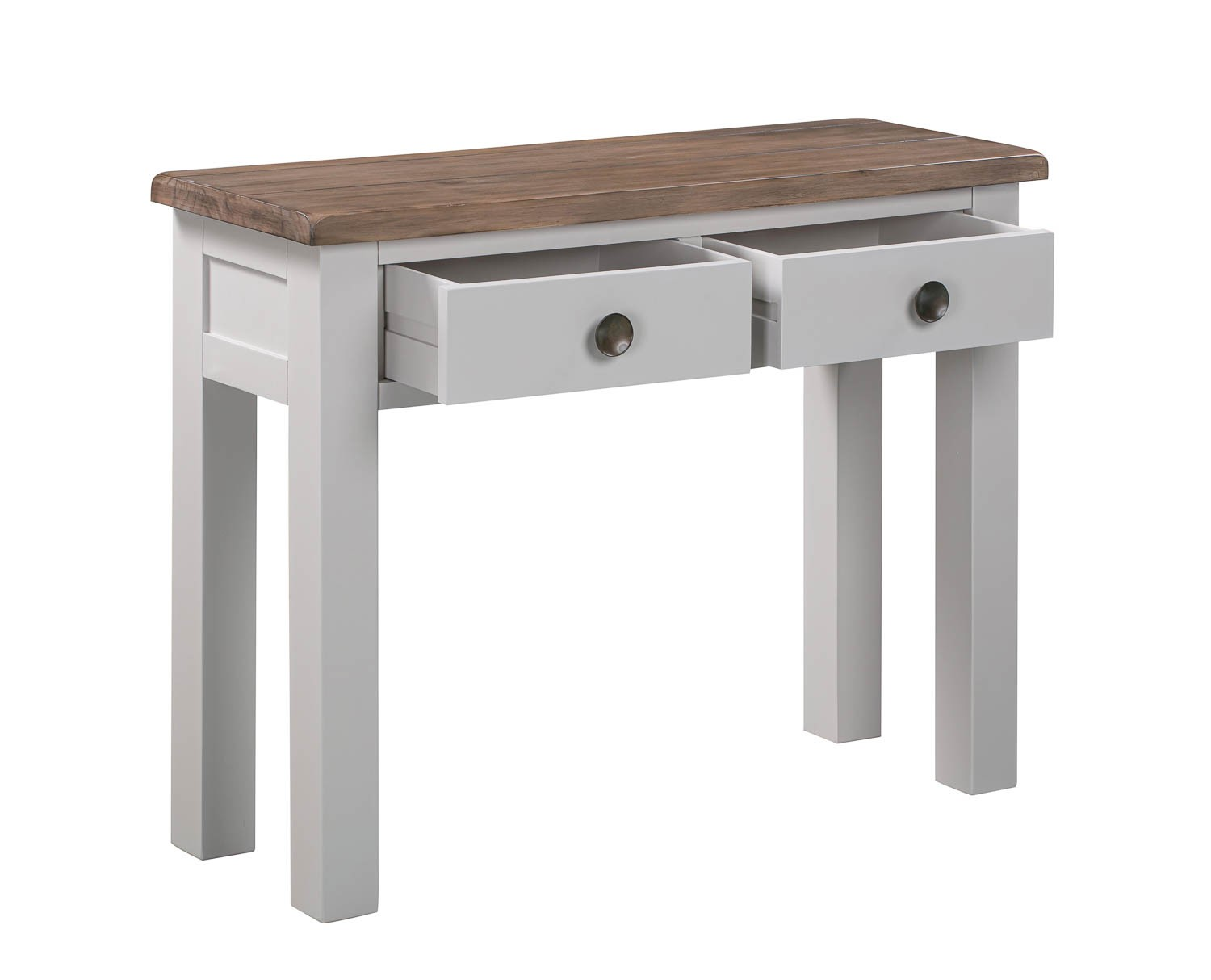 The Hampton Collection Two Drawer Console Table - Image 2