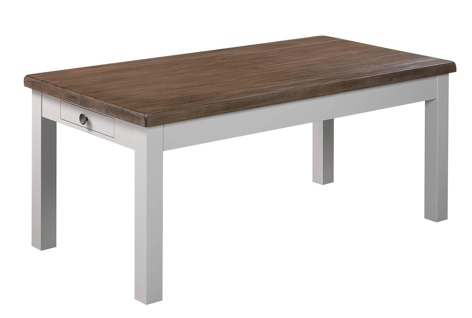 The Hampton Collection Two Drawer Dining Table - Image 1
