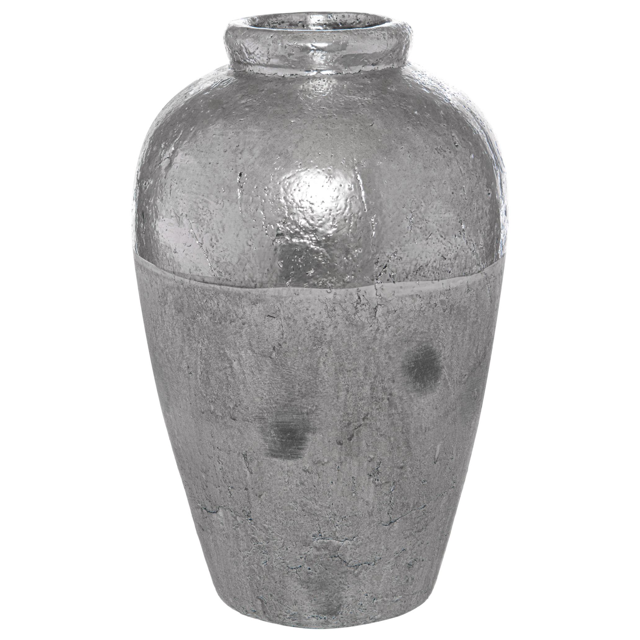 Metallic Dipped Juniper Vase - Image 1