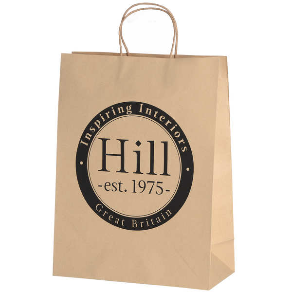 Medium Brown Paper Bag - Hill 1975