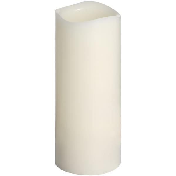 3 X 8 Inch Ivory Led Candle
