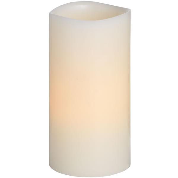 4  X  8  Inch  Ivory  Led  Candle