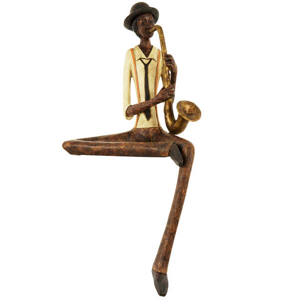 Sitting Jazz Band Saxophonist