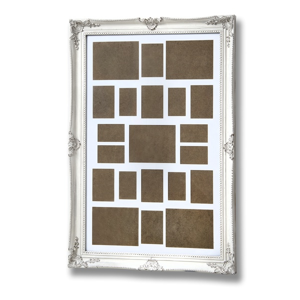 Antique White Large Gilded Multi Frame From Hill Interiors