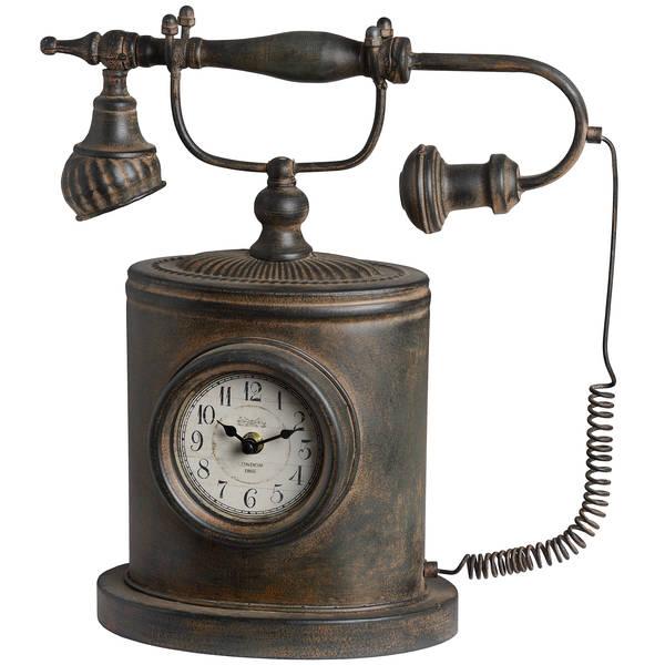 Antique Telephone Clock