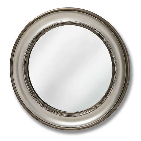 Detailed Circular Wall Mirror