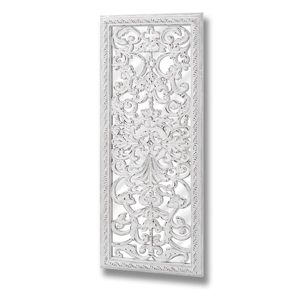 Baroque Mirror With Ornate Front Detail