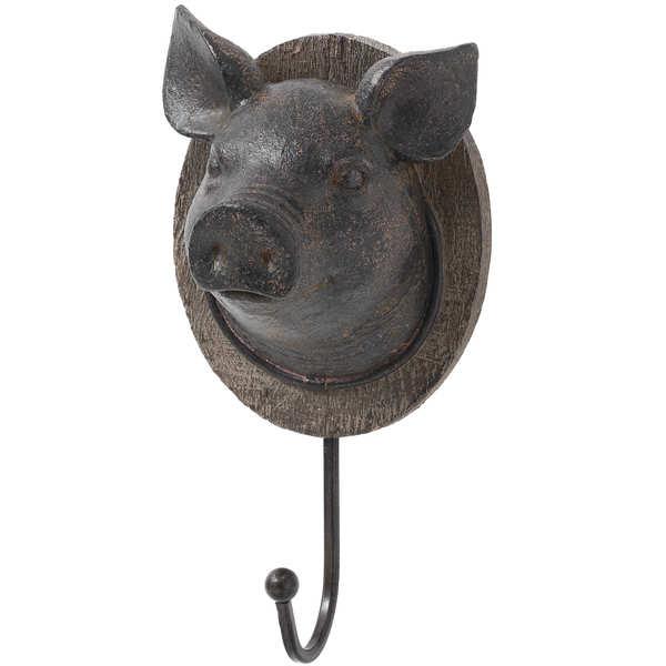 Pigs Head Coat Hook