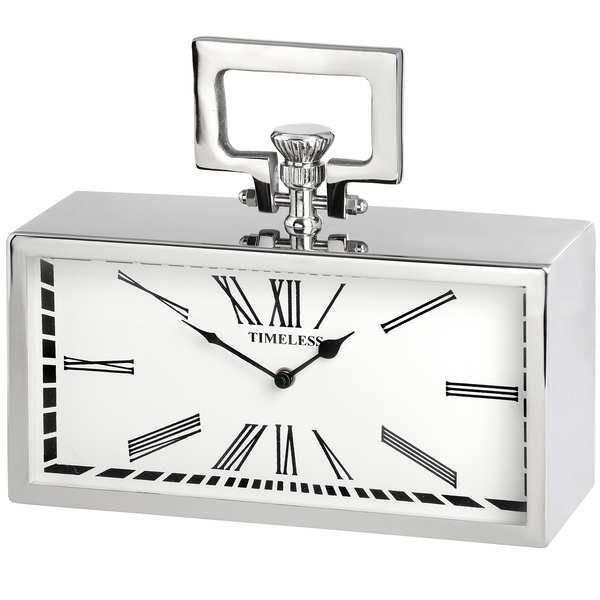 Silver Pocket Watch Clock