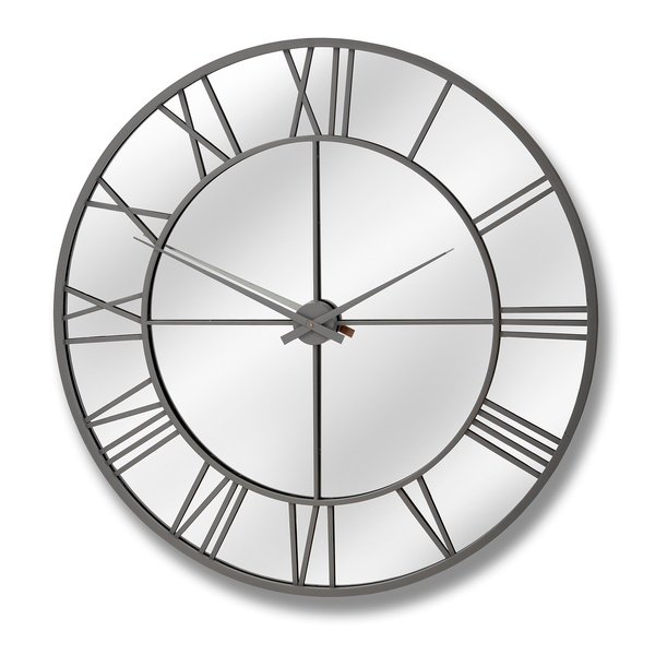 Outdoor Mirrored Wall Clock From Hill Interiors