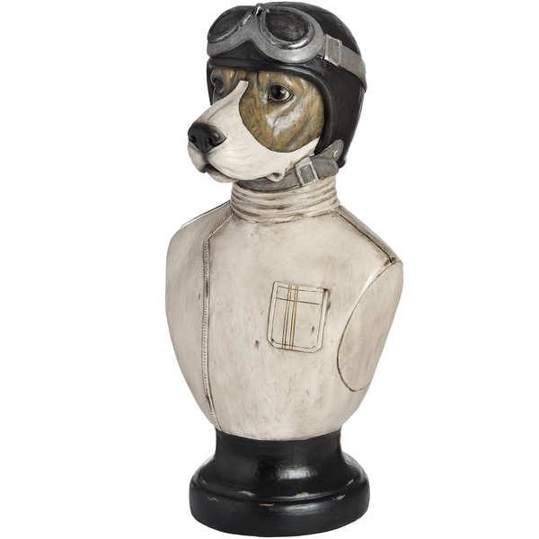 Racing Beagle Bust
