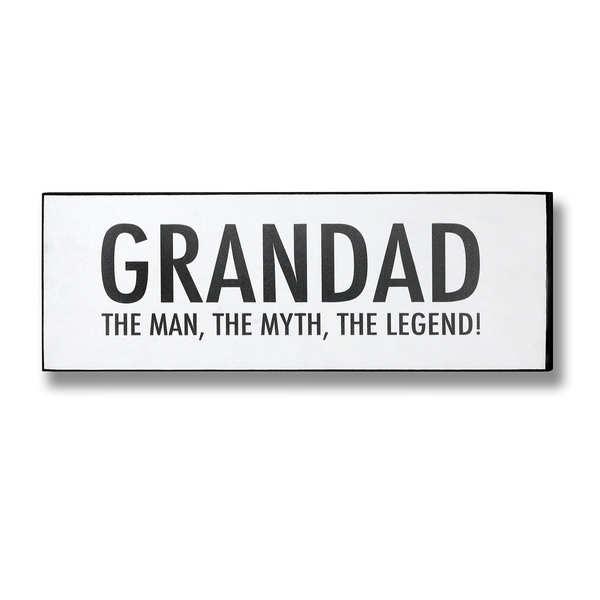 Grandad Plaque